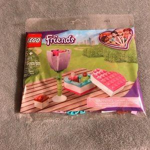 NEW Lego Friends Flower & Heart Box Set